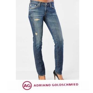 AG Adriano Goldschmeid The Stilt Skinny Jeans